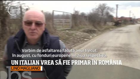 Un italian vrea să fie primar în România