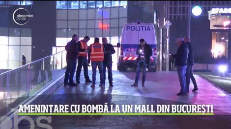 Ameninţare cu bombă la un mall din Bucureşti