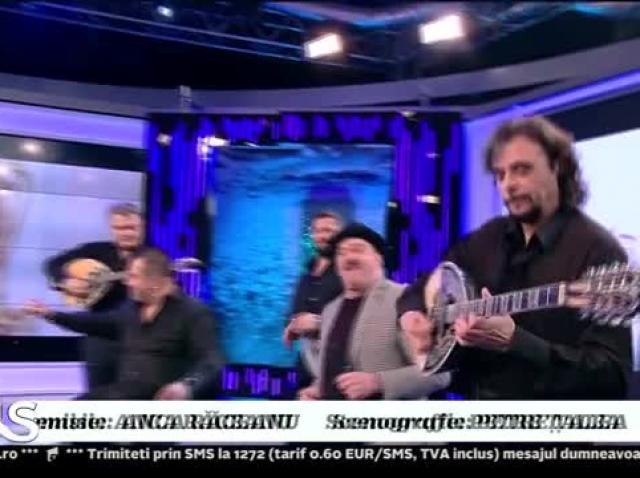 Xtra Night Show. Nikolaos Papadopoulos și Romică Țociu cântă melodia Sunt vagabondul vieții mele