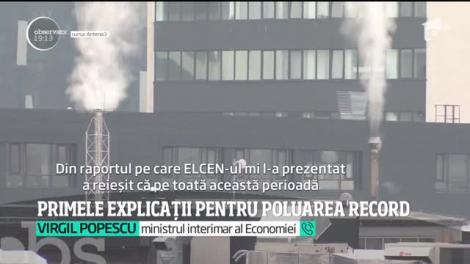 Primele explicații pentru poluarea record din Capitală! Vremea, incendiile de vegetaţie şi caucicurile arse ar fi otrăvit aerul