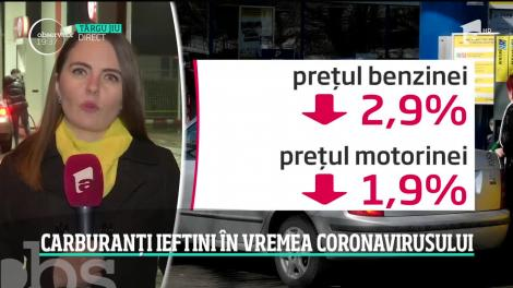 Coronavirusul a ieftinit motorina și benzina! Un plin de benzină ne costă cu 7 lei mai puţin