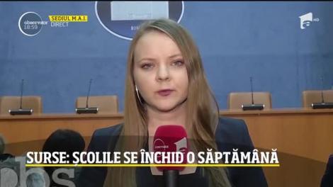 Coronavirusul închide toate școlile din România!