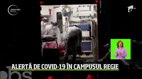 Alarma de coronavirus în campusul studenţesc din Regie. O studentă, recent întoarsă din Italia, a acuzat stări de rău