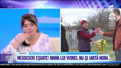 """Vulpita e mândră! Vizita lui Viorel la Blăgeşti s-a lăsat cu lacrimi amare: """"Mămică mea, iartă-mă!"""""""