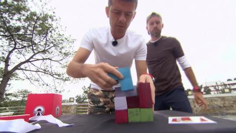 Prima misiune din cursa pentru ultima şansă! Echipele trebuie să rezolve un puzzle sub forma unui cub!