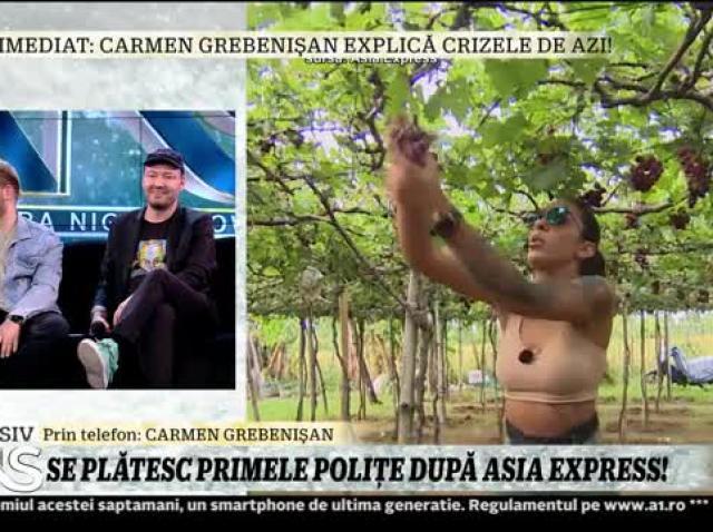 Carmen Grebenișan, dezvăluiri de senzație despre Asia Express. Irinel Columbeanu ar fi trebuit să facă parte din altă echipă