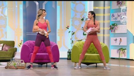 Fitness cu Diana Stejereanu, la Neatza cu Răzvan și Dani. Program de recuperare corporală după naștere