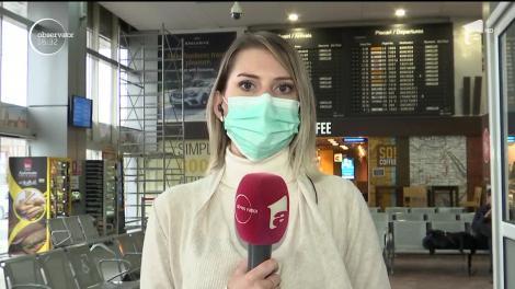 Români rămași în carantină pe aeroportul din Timişoara