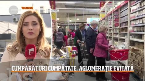 Românii au invadat marile magazine