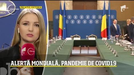 Guvernul pregăteşte măsuri economice pentru pandemia de coronavirus