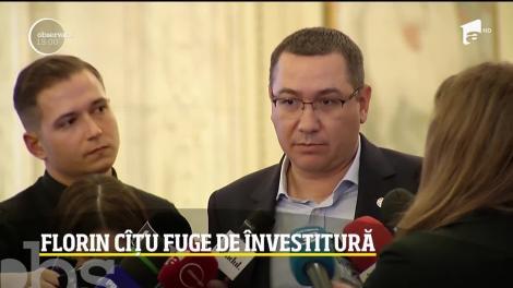 Florin Cîţu şi-a depus mandatul fix înaintea votului din Parlament