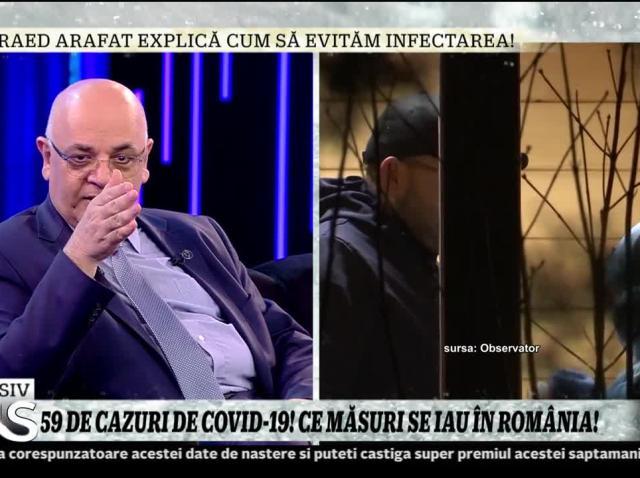 """România ar putea ajunge la 2.000 de infectați cu Covid-19. Raed Arafat: """"Dacă va creşte numărul cazurilor, vor fi internaţi numai cei în stare gravă!"""""""