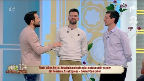 Frații Florin și Dan Ristei, totul despre relația lor și despre ce nu s-a văzut la TV despre Asia Express