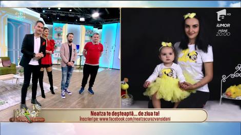 Neatza cu Răzvan și Dani te deşteaptă... de ziua ta! La mulți ani, Liliana!