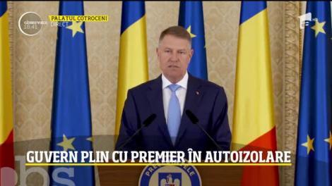 Președintele României, domnul Klaus Iohannis decreta stare de urgență de luni