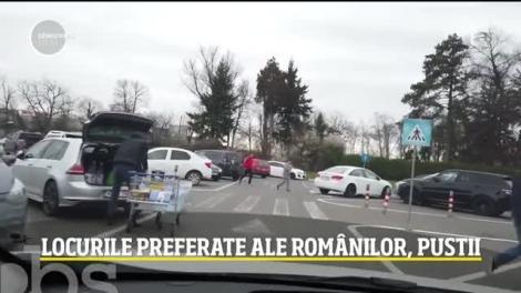 Coronavirus a golit cele mai aglomerate locuri din București