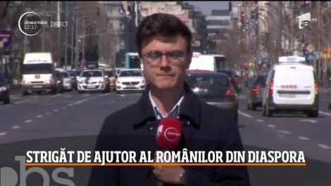 Strigăt de ajutor al românilor din diaspora
