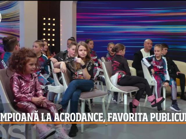 Maria Răducanu a topit inimile tuturor și s-a calificat în Finala de Popularitate a sezonului 10 Next Star