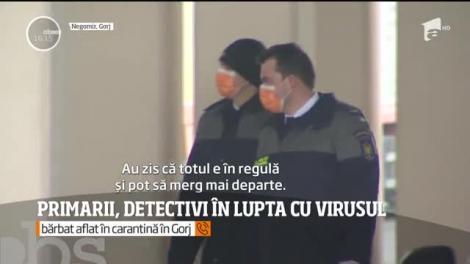 Primarii din Gorj, detectivi în lupta cu coronavirusul