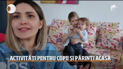 Ela Crăciun, activități pentru copii și părinți acasă