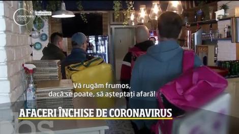 Afaceri în colaps. Restaurantele, mallurile şi cafenelele, închise de coronavirus