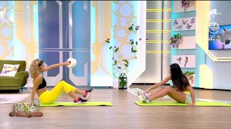 Este momentul să te antrenezi acasă! Fitness cu Diana Stejereanu, la Neatza cu Răzvan și Dani