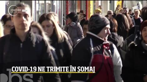 Coronavirusul aduce o nouă lovitură grea pentru români! Rata șomajului atinge cote alarmante