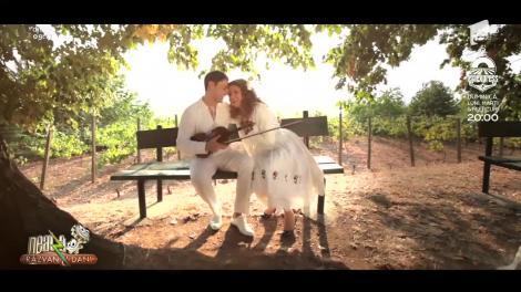Lavinia Goste și Marius Zorilă cântă piesa Inimoară cu dor mult
