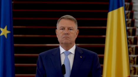 Președintele Klaus Iohannis, mesaj pentru români: Se introduc noi restricții
