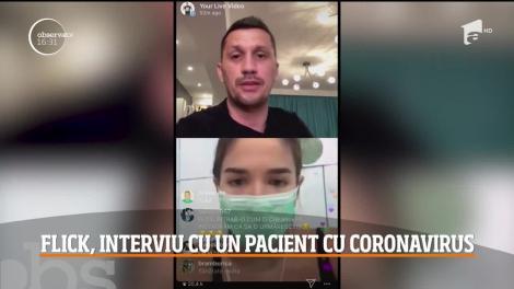 """Flick Domnul Rimă a vorbit în direct cu o prietenă diagnosticată cu noul virus: """"Am început să tușesc!"""""""