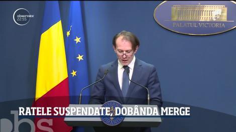 Oficial! Românii pot cere amânare ratelor până la nouă luni