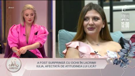 """Iulia și Lică, probleme în paradis? S-a lăsat cu hohote de plâns în casa """"Mireasa"""""""