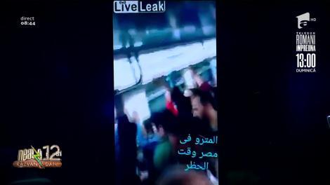 Smiley News. Aglomerație la metroul din Cairo, Egipt, chiar dacă țara este în carantină