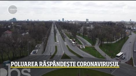 """Aerul toxic a învăluit din nou Capitala. Oamenii de știință, avertisment cumplit: """"Poluarea ajută la răspândirea coronavirusului!"""""""