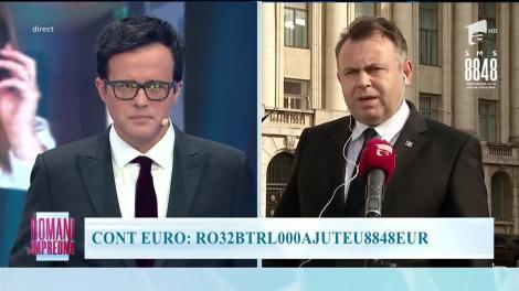 """""""Români Împreună"""" - Ministrul Sănătății: Dacă suntem solidari, trecem ușor, ușor și peste acest moment"""