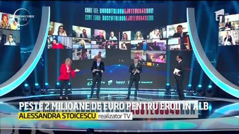 Peste două milioane de euro pentru eroii în alb