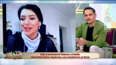 Celia, în autoizalare la Timișoara: Am răcit foarte tare, îmi era frică că am virusul!