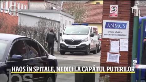 Spitalul din Deva este al treilea din ţară care intră în carantină totală. Blocate în interior, asistentele fac acuzaţii grave