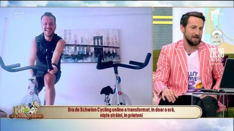 Ești la izolare și te-ai săturat de abdomene? Încearcă cycling online alături de Deniz Osman