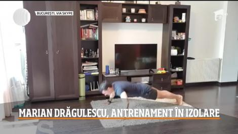 Marian Drăgulescu, antrenament în izolare