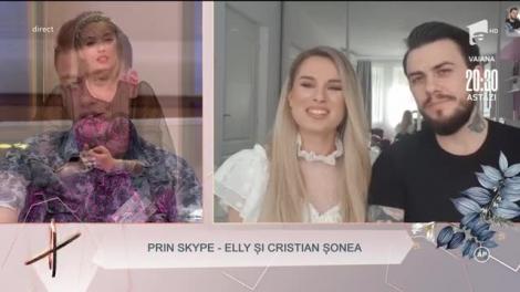 """Surpriză de proporții pentru Florin! Elly și Cristian Şonea, îndrăgitul cuplu de la """"Mireasă pentru fiul meu"""", i-au transmis un mesaj"""