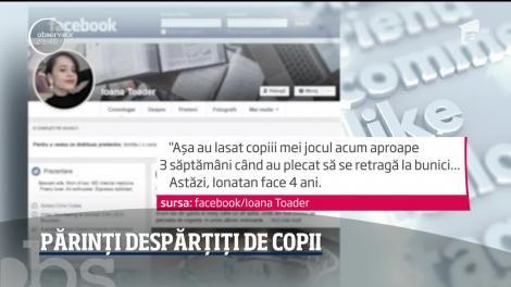 Medici români despărțiți de copiii lor din cauza coronavirusului! Imagini emoționante
