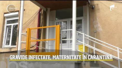 Cea mai mare maternitate din Timişoara a intrat în carantină, după ce o tânără care abia născuse a fost depistată cu coronavirus. Opt asistente au fost infectate