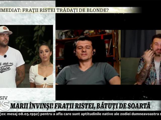 Frații Ristei, primele declarații după eliminarea din Asia Express. Au fost sabotați de blonde?