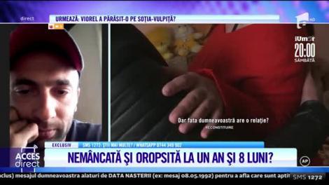 """Mărturisirile dureroase ale unui tată care nu și-a mai văzut fiica de un an și opt luni: """"Nu mă lasă să o văd. Pur și simplu nu vrea să mă apropii de ea!"""""""