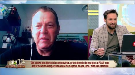 """Coronavirusul, lovitură imensă pentru Helmuth Duckadam! """"Nu se mai poate"""" - VIDEO"""