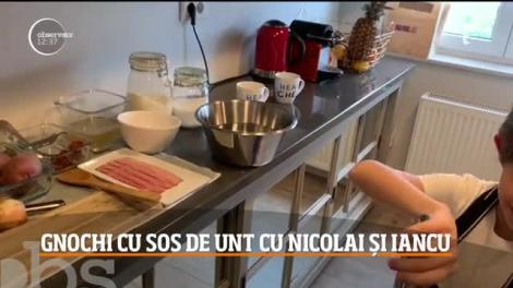 Gnochi cu sos de unt cu Nicolai Tand și Iancu