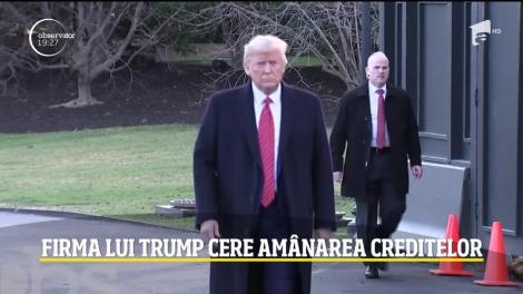 Firma lui Donald Trump cere amânarea creditelor
