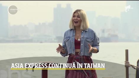 Asia Express continuă în Taiwan