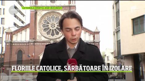 Florille catolice, sărbătoare în izolare